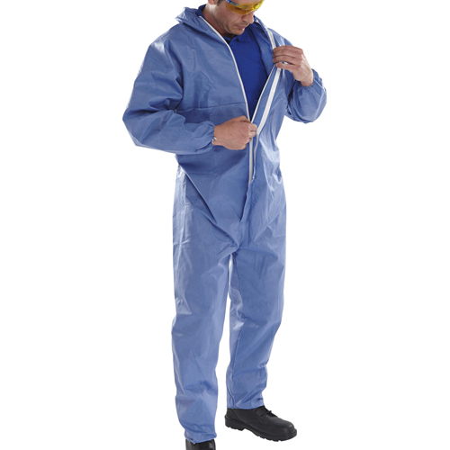 Click Disposable Type 5-6 Boiler Suit 25 Pairs
