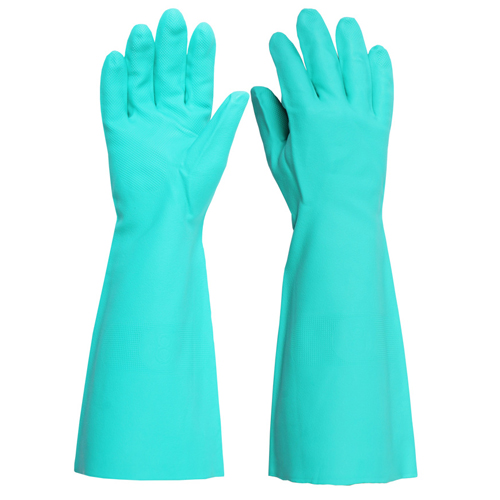 Click Nitrile Gauntlet Gloves One Pair