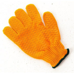 Gloves Criss Cross Pattern One Pair