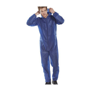Click Poly Prop Disposable Boiler Suit 50 Pairs