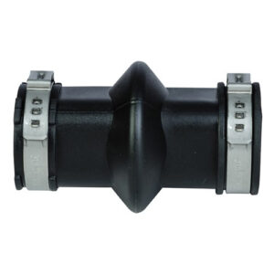 Lubing Expansion Connector With Clips